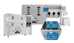 graphene-TCVD-DC100CA-Premium-Custom-Design-Dual-CVD-System-Glove-Box