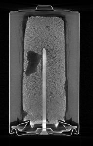 micro-CT of a battery