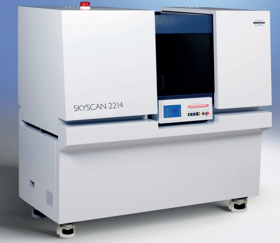 The new MULTISCALE X-ray nanotomograph SkyScan 2214 covers the widest range of object sizes and spatial resolutions in one single instrument.