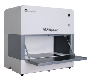 DEXA InAlyzer System for measuring BMD and body composition in lab animals.